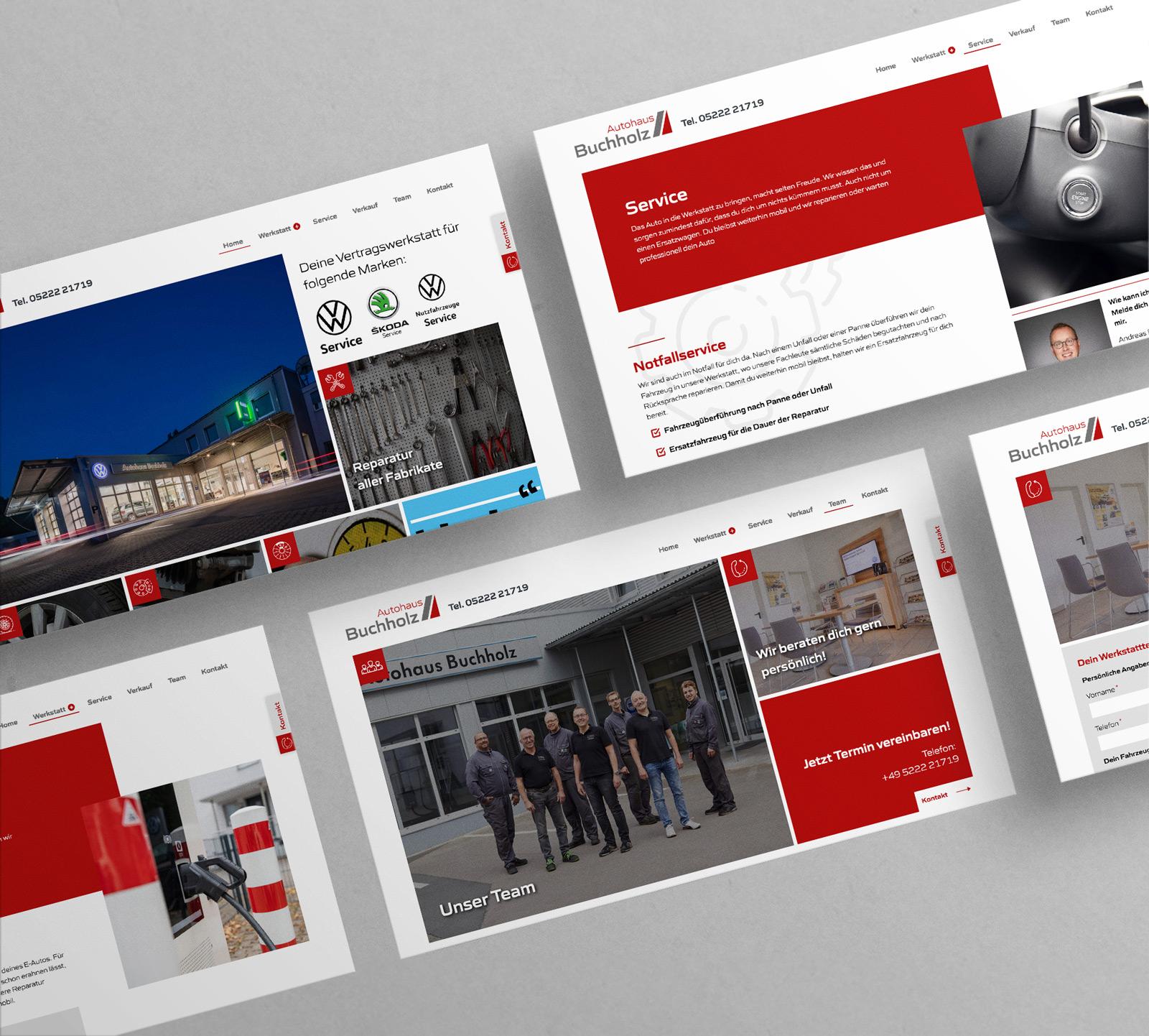 Buchholz Webseite