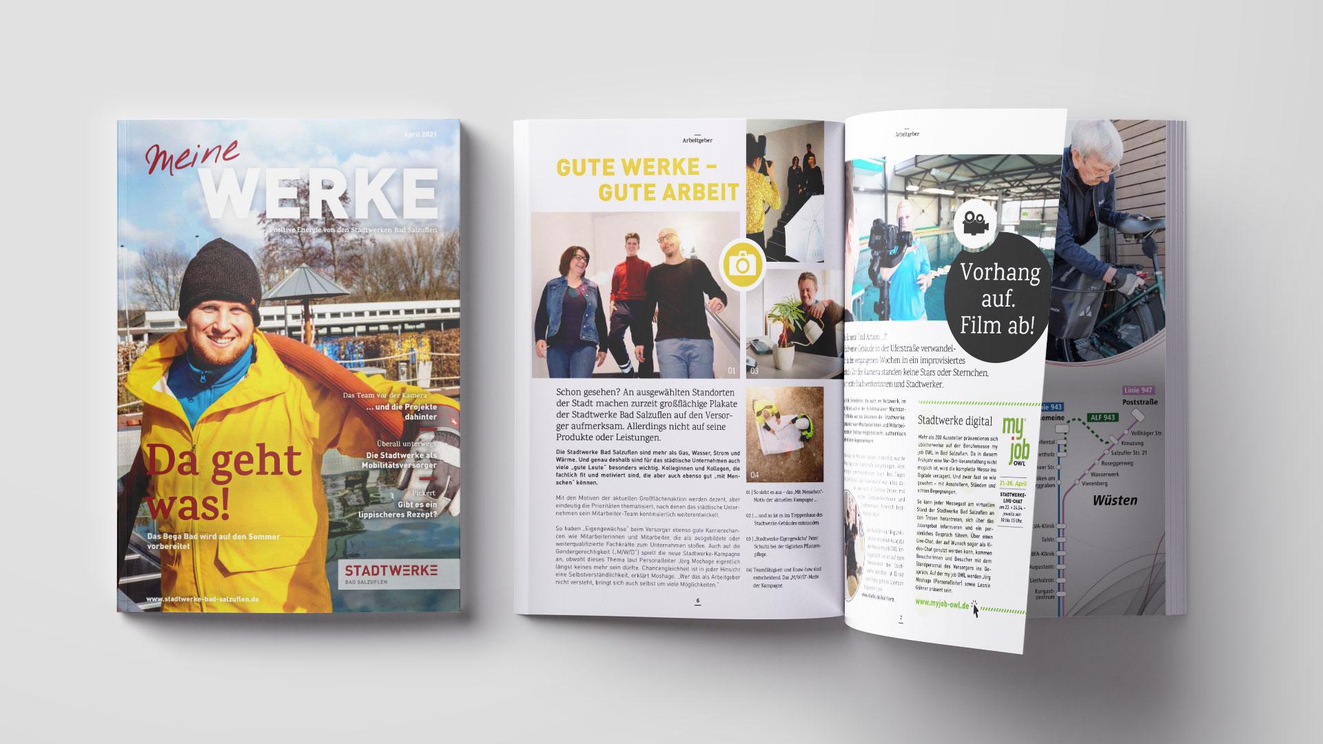 Stadtwerke Bad Salzuflen – Kundenmagazin April 2021