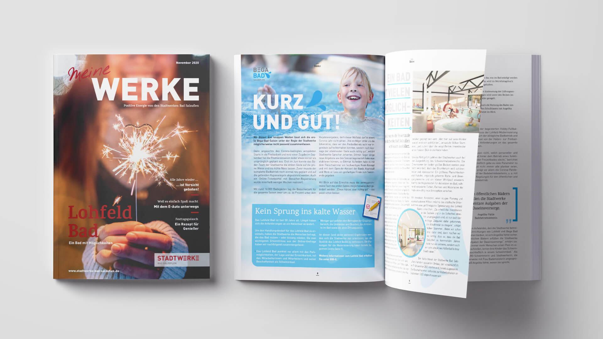 Stadtwerke Bad Salzuflen – Kundenmagazin November 2020