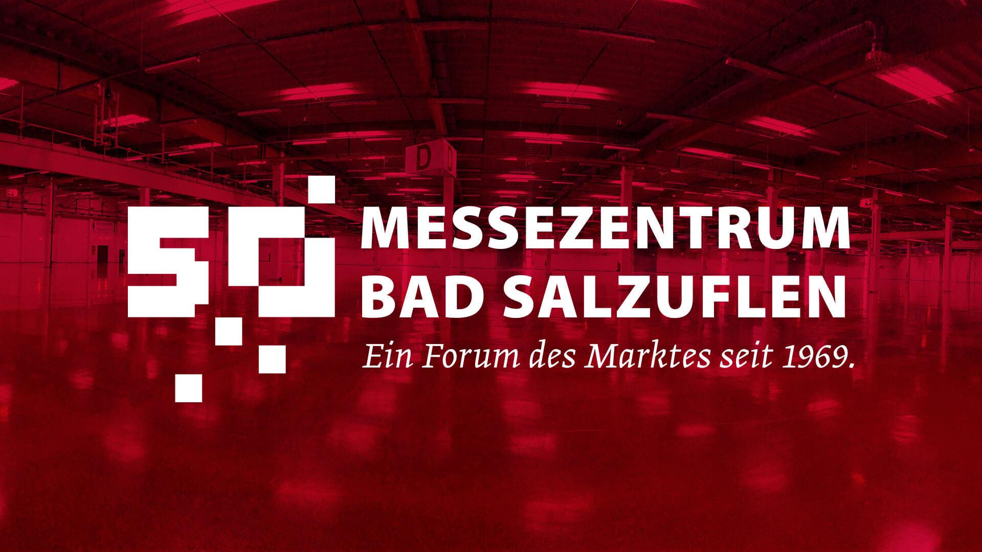 Jubiläumslogo 40 Jahre Messezentrum Bad Salzuflen