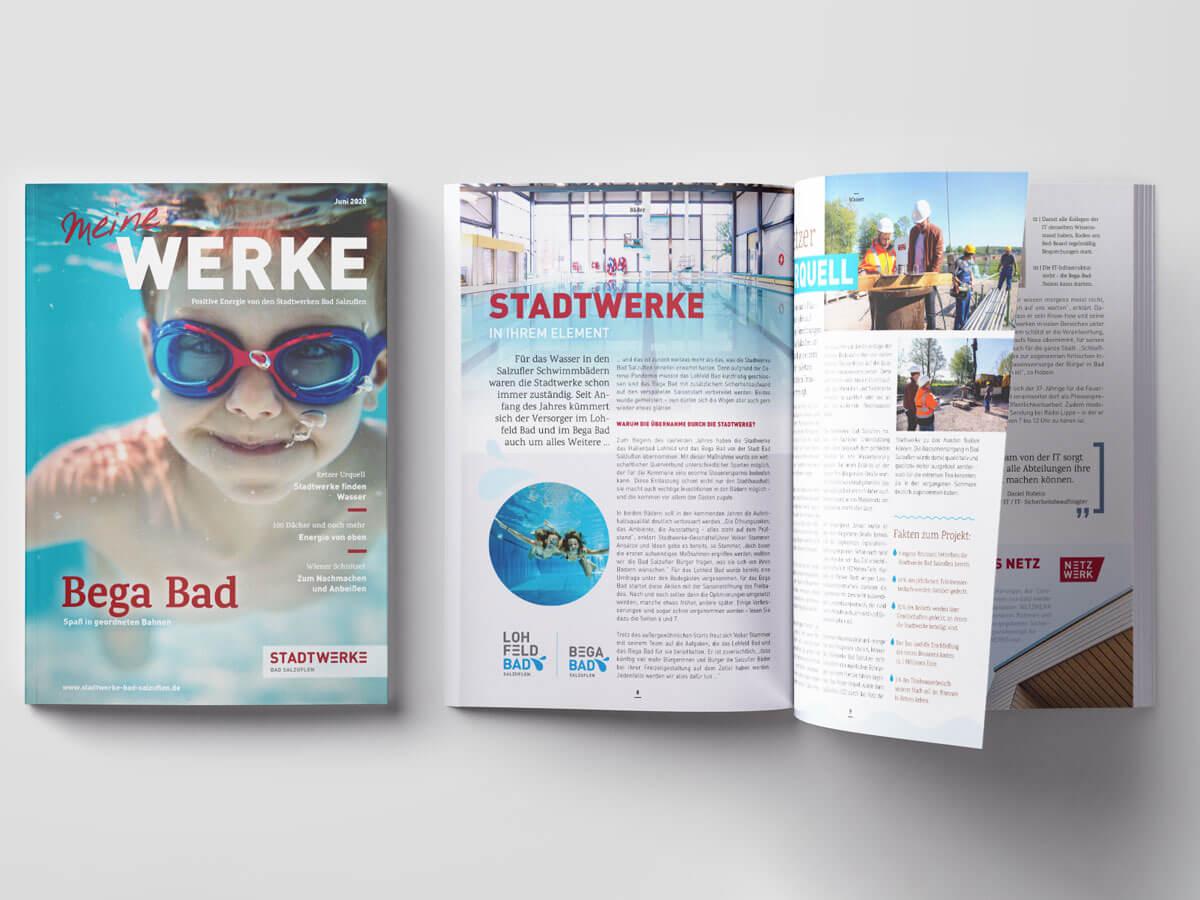 Kundenmagazin der Stadtwerke Bad Salzuflen (Juni 2020)
